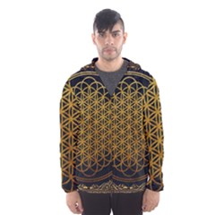 Bring Me The Horizon Cover Album Gold Hooded Wind Breaker (Men)