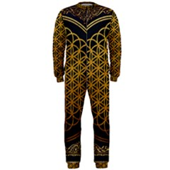 Bring Me The Horizon Cover Album Gold OnePiece Jumpsuit (Men)