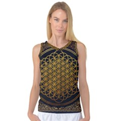 Bring Me The Horizon Cover Album Gold Women s Basketball Tank Top
