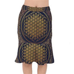 Bring Me The Horizon Cover Album Gold Mermaid Skirt