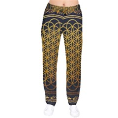 Bring Me The Horizon Cover Album Gold Drawstring Pants