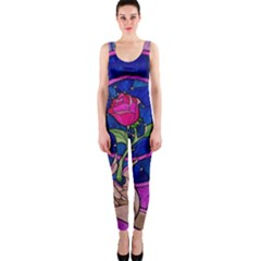 Enchanted Rose Stained Glass OnePiece Catsuit