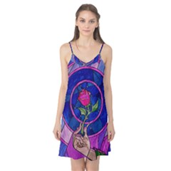 Enchanted Rose Stained Glass Camis Nightgown