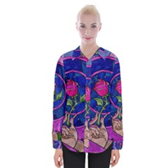 Enchanted Rose Stained Glass Shirts