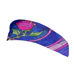 Enchanted Rose Stained Glass Stretchable Headband