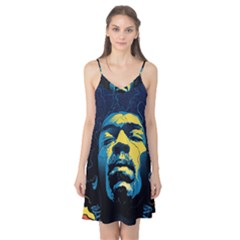 Gabz Jimi Hendrix Voodoo Child Poster Release From Dark Hall Mansion Camis Nightgown