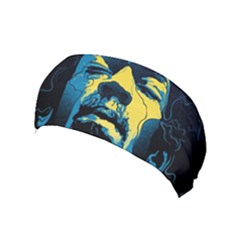 Gabz Jimi Hendrix Voodoo Child Poster Release From Dark Hall Mansion Yoga Headband