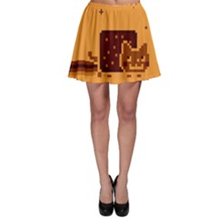 Nyan Cat Vintage Skater Skirt