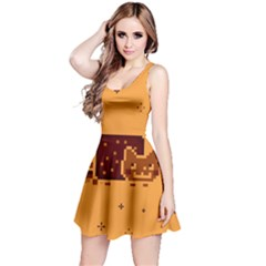 Nyan Cat Vintage Reversible Sleeveless Dress