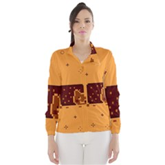 Nyan Cat Vintage Wind Breaker (Women)