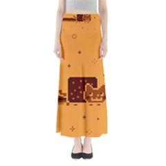 Nyan Cat Vintage Maxi Skirts
