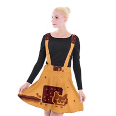 Nyan Cat Vintage Suspender Skater Skirt
