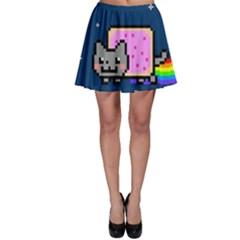 Nyan Cat Skater Skirt