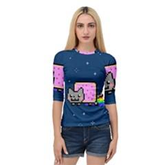 Nyan Cat Quarter Sleeve Tee