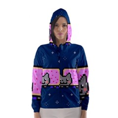 Nyan Cat Hooded Wind Breaker (Women)
