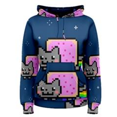 Nyan Cat Women s Pullover Hoodie