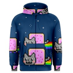 Nyan Cat Men s Zipper Hoodie