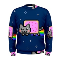 Nyan Cat Men s Sweatshirt
