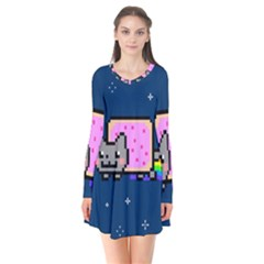 Nyan Cat Flare Dress