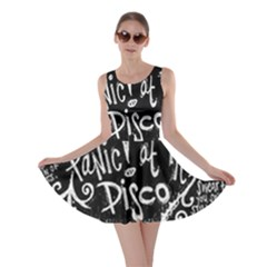 Panic ! At The Disco Lyric Quotes Skater Dress