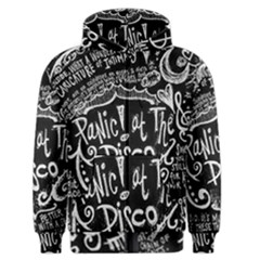 Panic ! At The Disco Lyric Quotes Men s Zipper Hoodie