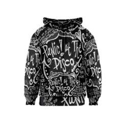 Panic ! At The Disco Lyric Quotes Kids  Zipper Hoodie