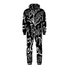 Panic ! At The Disco Lyric Quotes Hooded Jumpsuit (Kids)