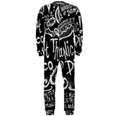 Panic ! At The Disco Lyric Quotes OnePiece Jumpsuit (Men)