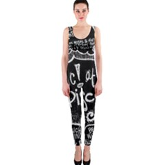 Panic ! At The Disco Lyric Quotes OnePiece Catsuit