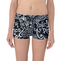 Panic ! At The Disco Lyric Quotes Boyleg Bikini Bottoms