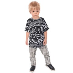 Panic ! At The Disco Lyric Quotes Kids  Raglan Tee