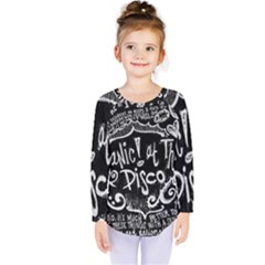 Panic ! At The Disco Lyric Quotes Kids  Long Sleeve Tee
