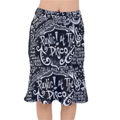 Panic ! At The Disco Lyric Quotes Mermaid Skirt