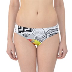 Panic ! At The Disco Hipster Bikini Bottoms
