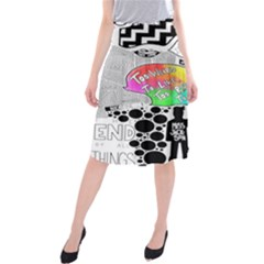 Panic ! At The Disco Midi Beach Skirt