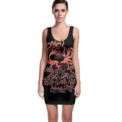 Panic At The Disco   Lying Is The Most Fun A Girl Have Without Taking Her Clothes Sleeveless Bodycon Dress
