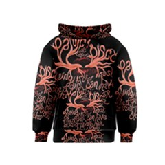 Panic At The Disco   Lying Is The Most Fun A Girl Have Without Taking Her Clothes Kids  Pullover Hoodie