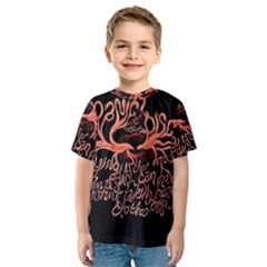 Panic At The Disco   Lying Is The Most Fun A Girl Have Without Taking Her Clothes Kids  Sport Mesh Tee