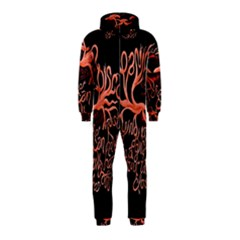 Panic At The Disco   Lying Is The Most Fun A Girl Have Without Taking Her Clothes Hooded Jumpsuit (Kids)