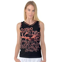 Panic At The Disco   Lying Is The Most Fun A Girl Have Without Taking Her Clothes Women s Basketball Tank Top