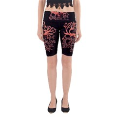 Panic At The Disco   Lying Is The Most Fun A Girl Have Without Taking Her Clothes Yoga Cropped Leggings