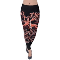 Panic At The Disco   Lying Is The Most Fun A Girl Have Without Taking Her Clothes Velvet Leggings