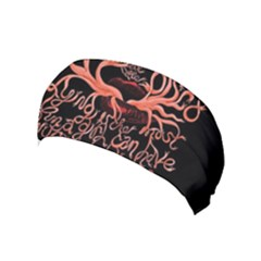 Panic At The Disco   Lying Is The Most Fun A Girl Have Without Taking Her Clothes Yoga Headband