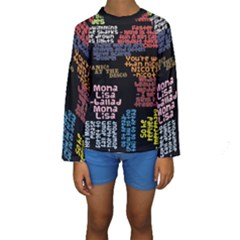 Panic At The Disco Northern Downpour Lyrics Metrolyrics Kids  Long Sleeve Swimwear