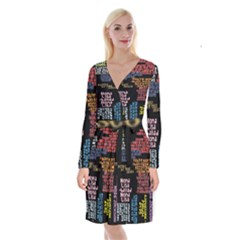 Panic At The Disco Northern Downpour Lyrics Metrolyrics Long Sleeve Velvet Front Wrap Dress