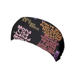 Panic At The Disco Northern Downpour Lyrics Metrolyrics Yoga Headband