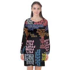 Panic At The Disco Northern Downpour Lyrics Metrolyrics Long Sleeve Chiffon Shift Dress