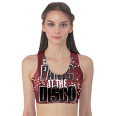 Panic At The Disco Poster Sports Bra