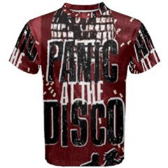 Panic At The Disco Poster Men s Cotton Tee