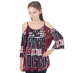 Panic At The Disco Poster Flutter Tees